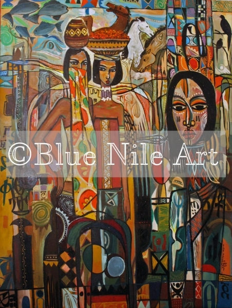 Blue Nile Art